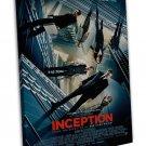 Inception Leonardo Dicaprio Movie Wall Decor 16x12 FRAMED CANVAS Print