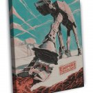 Star Wars The Empire Strikes Back Retro Image Art 20x16 Framed Canvas Print