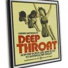 Deep Throat 1972 Vintage Movie Framed Canvas Print