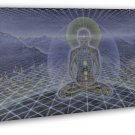 Theolog Alex Grey Psychedelic Trippy Art Ing 16x12 FRAMED CANVAS Print