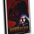 Revenge Of The Jedi 1982 Vintage Movie FRAMED CANVAS Print 19