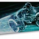 Tron Legacy Light Cycles Movie Wall Decor 20x16 FRAMED CANVAS Print