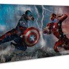 Marvel Captain America Civil War High Quality 16x12 Framed Canvas Print