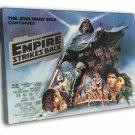 The Empire Strikes Back 1980 Vintage Movie FRAMED CANVAS Print 8