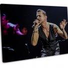 Depeche Mode Music Band Group Art 16x12 Framed Canvas Print Decor