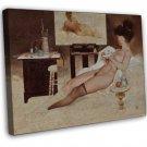 Fritz Willis PIN UP Girl Art 20x16 Framed Canvas Print