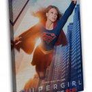 Supergirl Season 2 Superheroes New TV Series 20x16 FRAMED CANVAS Print