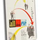 All About Eve 1950 Vintage Movie Framed Canvas Print