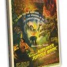 Jungle Book 1942 Vintage Movie Framed Canvas Print