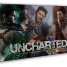 Uncharted 4 A Thiefs End Hot Game Art 20x16 Framed Canvas Print