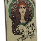 Lana Del Rey Music Star Art 16x12 Framed Canvas Print Decor