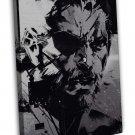 Metal Gear Solid Snake The Phantom Pain Spun Wall Decor 20x16 FRAMED CANVAS Prin