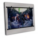 The Nightmare Before Christmas Wall Decor 20x16 FRAMED CANVAS Print