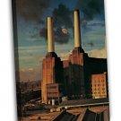 Pink Floyd Rock Music Band Art Album Cover Factory 16x12 FRAMED CANVAS Print