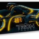 Tron Legacy Light Cycles Movie Wall Decor 16x12 FRAMED CANVAS Print