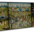 The Garden Of Earthly Delights Hieronymus Bosch Wall Decor 16x12 Framed Canvas P