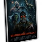 Rocket Guardians Of The Galaxy Marvel Movie 16x12 Framed Canvas Print