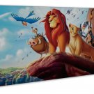 The Lion King Image 16x12 Framed Canvas Print