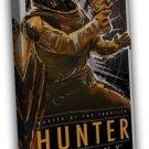 Destiny Video Game Art Hunter 20x16 Framed Canvas Print