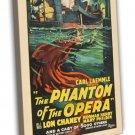 The Phantom Of The Opera 1925 Vintage Movie FRAMED CANVAS Print