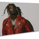 Young Thug Rapper Music Hip Hop 20x16 Framed Canvas Print