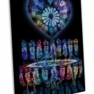 Kingdom Hearts Game Art 16x12 Framed Canvas Print Decor