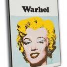 Marilyn Monroe By Andy Warhol 1971 Vintage Movie FRAMED CANVAS Print 2