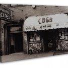 Punk Rock Music Club Venue Ny Cbgb Art 20x16 Framed Canvas Print Decor