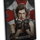 Resident Evil The Final Chapter Movie 20x16 Framed Canvas Print