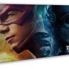 The Flash Zoom Season 3 Superheroes Art 20x16 FRAMED CANVAS Print