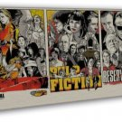 Kill Bill Pulp Fiction Reservoir Dogs Movie 16x12 Framed Canvas Print