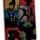 Avengers Superheroes Comic Movie Minimalist 20x16 FRAMED CANVAS Print