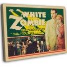 White Zombie 1932 Vintage Movie Framed Canvas Print 2