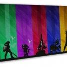 The Legend Of Zelda Majoras Mask Games Minimalist 20x16 FRAMED CANVAS Print