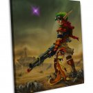Jak And Daxter Game Art 20x16 FRAMED CANVAS Print Decor