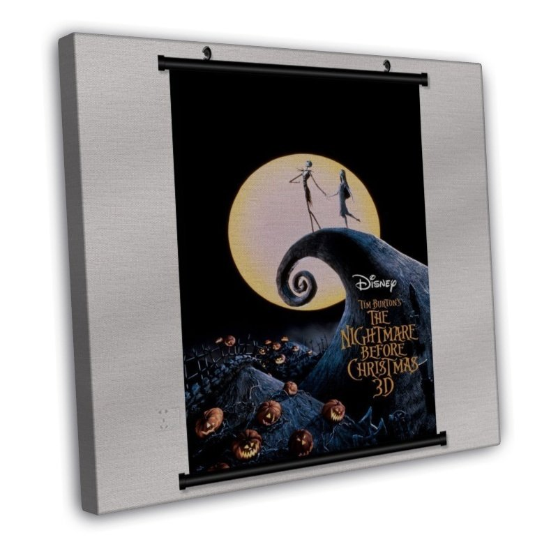 The Nightmare Before Christmas With Wall Scroll Decor