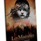 Les Miserables Movie Wall Decor 20x16 Framed Canvas Print
