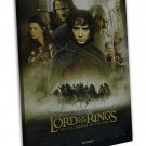 The Lord Of The Rings 1 2 3 Movie Wall Decor 20x16 FRAMED CANVAS Print