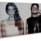 Asap Rocky Rapper Music Singer S Lana Del Rey 20x16 Framed Canvas Print