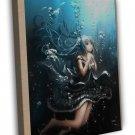 Home Decor Hatsune Miku Sexy Anime Girls Art Wall 20x16 FRAMED CANVAS Print
