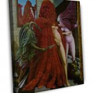Max Ernst Robing Of The Bride Fine Art 20x16 Framed Canvas Print