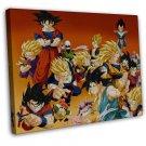 Vegeta Gohan Buu Son Goku Trunks Videl Dragon Ball Z 16x12 FRAMED CANVAS Print