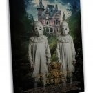 Miss Peregrines Home For Peculiar Children Movie Twins 20x16 FRAMED CANVAS Print