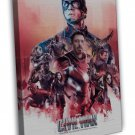 Captain America Civil War Superheroes New Imax Movie 16x12 Framed Canvas Print