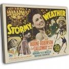 Stormy Weather 1943 Vintage Movie Framed Canvas Print 3