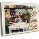 Arsenic And Old Lace 1944 Vintage Movie FRAMED CANVAS Print