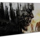 Dying Light Horror Game Art 20x16 Framed Canvas Print Decor