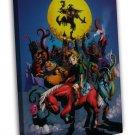 The Legend Of Zelda Majoras Mask Games 20x16 FRAMED CANVAS Print