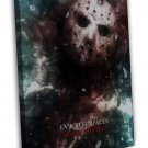 Friday The 13th 2 Horror Movie 20x16 FRAMED CANVAS Print