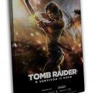 Tomb Raider Lara Croft Game Art Wall Tourniquet Render 20x16 FRAMED CANVAS Print